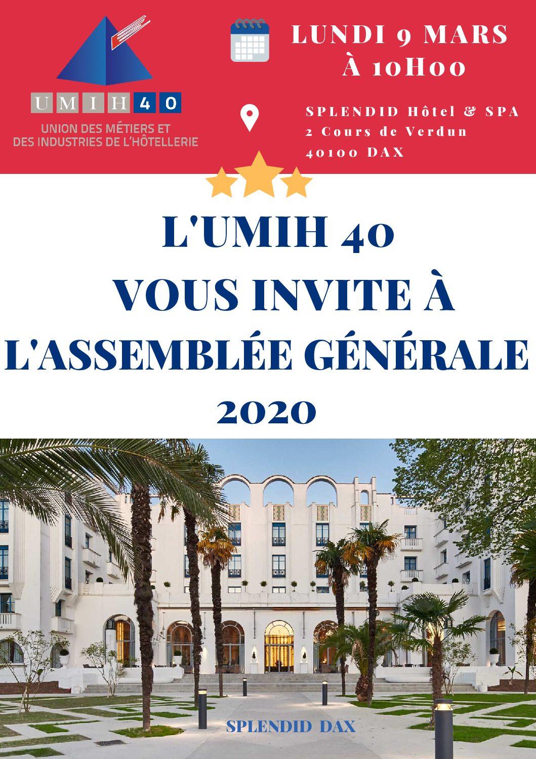 L'Assemblée Générale 2020